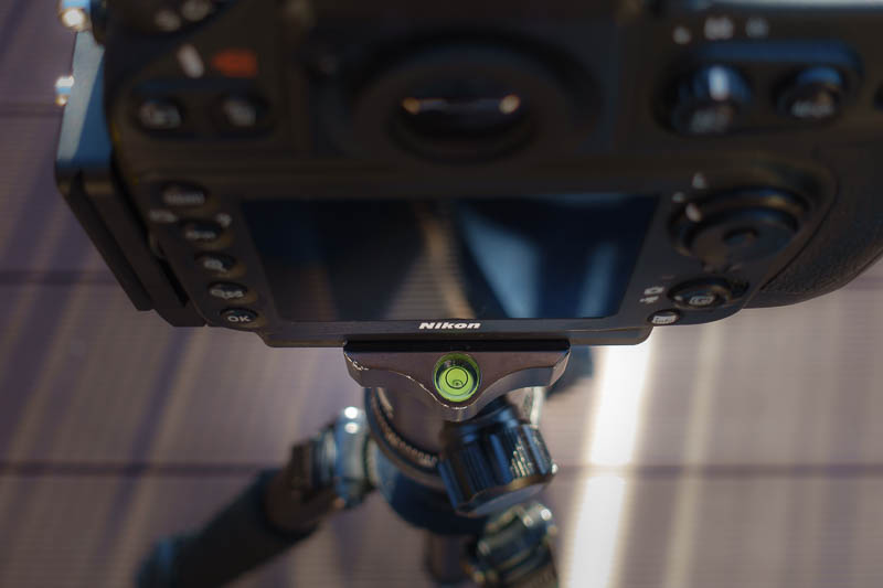 MENGS MPU-100 an Nikon D800