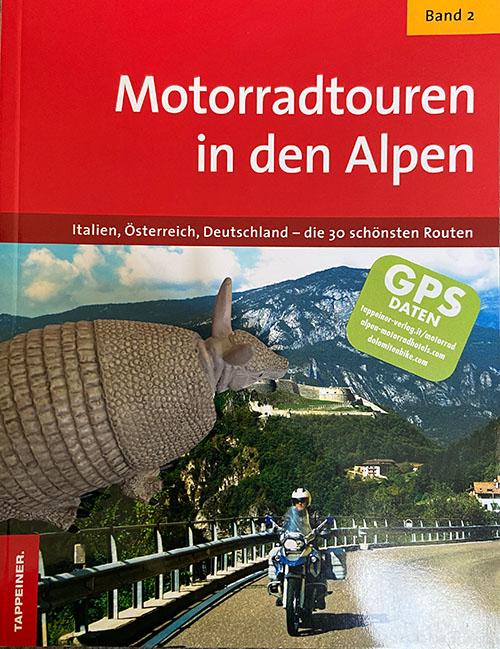 Buch motoradtouren in die alpen