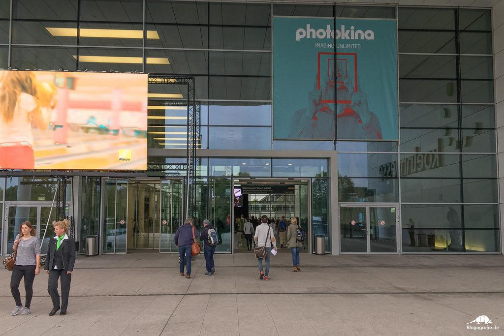 photokina - eingang
