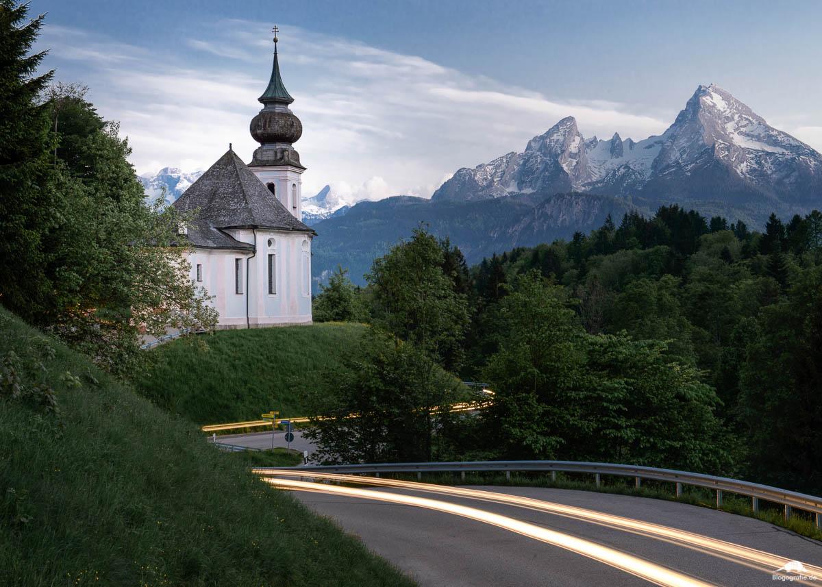 Die Wallfahrtskirche Maria Gern bei Berchtesgaden