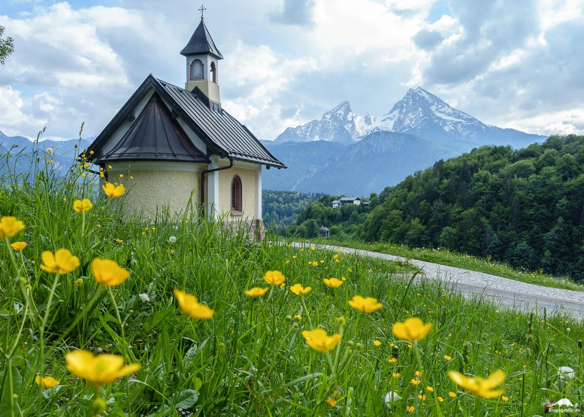 Die Kirchleitn Kapelle in Berchtesgaden