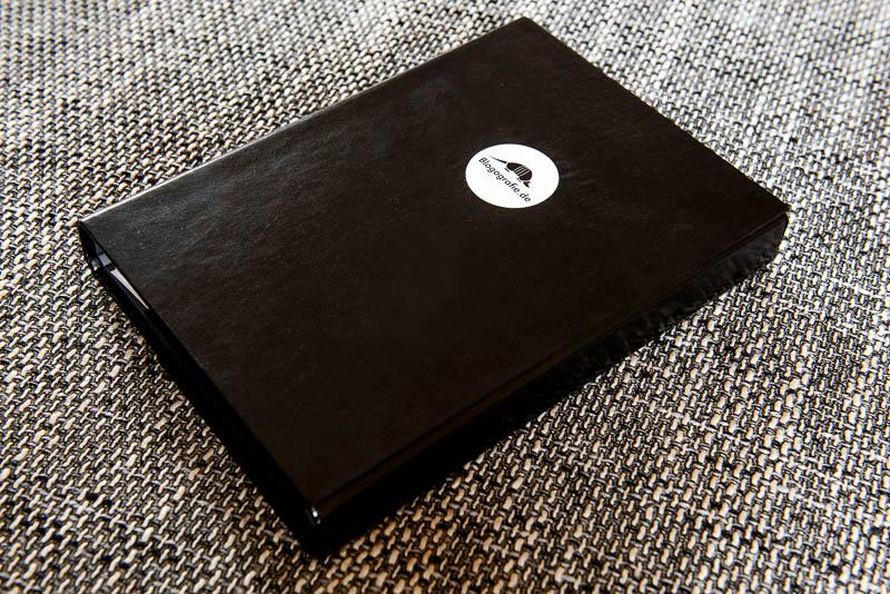 A5-Heftbox von außen
