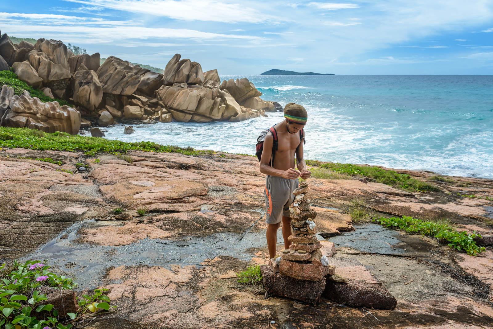 Wanderung zur Anse Marron mit Tourguide Henry Bibi