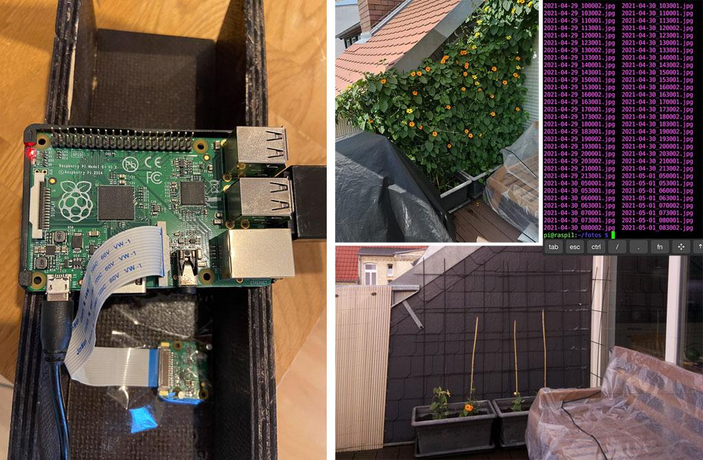 Making-of Zeitrafferprojekt mit dem Raspberry Pi