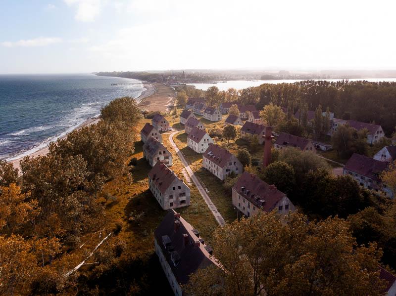 Halbinsel Wustrow mit Geisterstadt