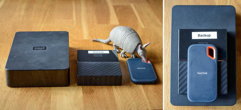 SanDisk Extreme Portable SSD - Größenvergleich