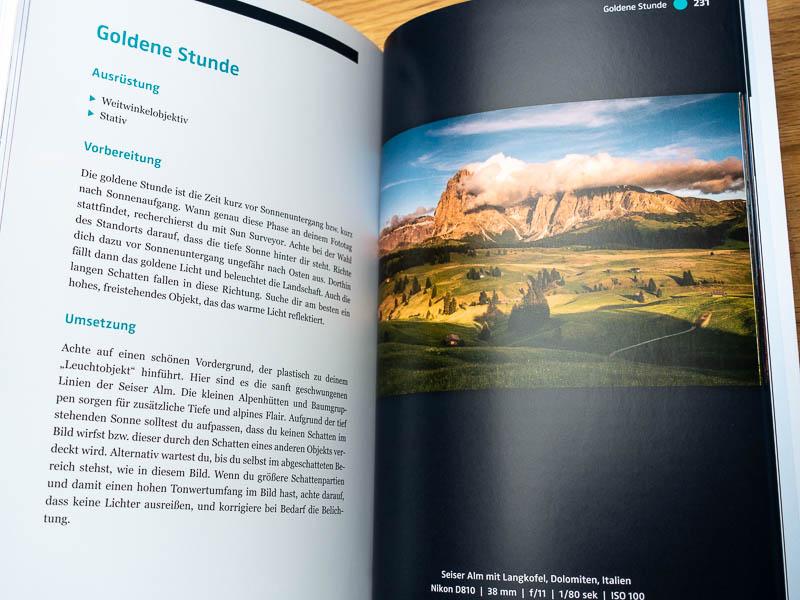 Der Start in die Landschaftsfotografie - Goldener Schnitt