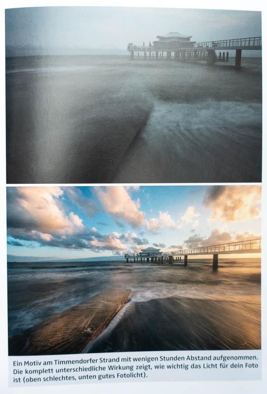 Der Start in die Landschaftsfotografie - Unterschiedliche Lichtwirkungen am Timmendorfer Strand
