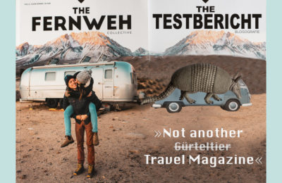 "The Fernweh Collective - Cover zum Review der 6. Ausgabe ""Slow down"""