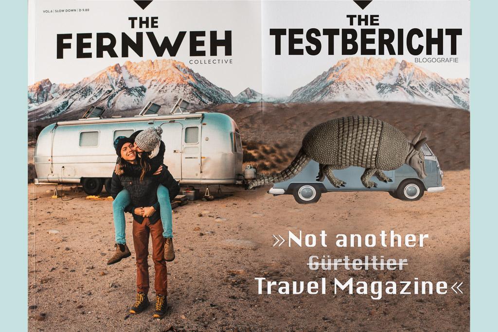"The Fernweh Collective - Cover zum Review der 6. Ausgabe ""Slow down"""