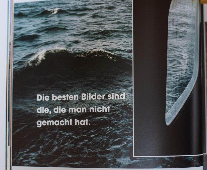 """The Fernweh Collective - Zitat aus der 6. Ausgabe """"Slow down"""": Die besten Bilder sind die, die man nicht gemacht hat."""