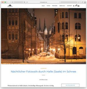Ein Blog-Beitrag von Blogografie.de im neuen WordPress-Theme