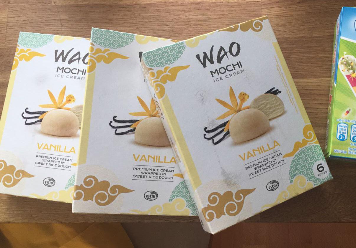 WAO Mochi-Eis als Alternative zum Tschisi