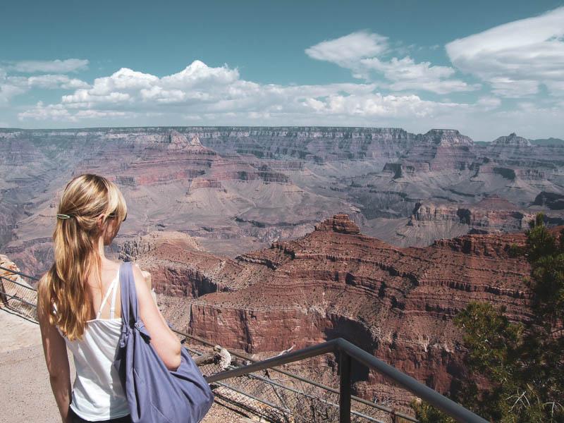 Ausblick auf den Grand Canyon