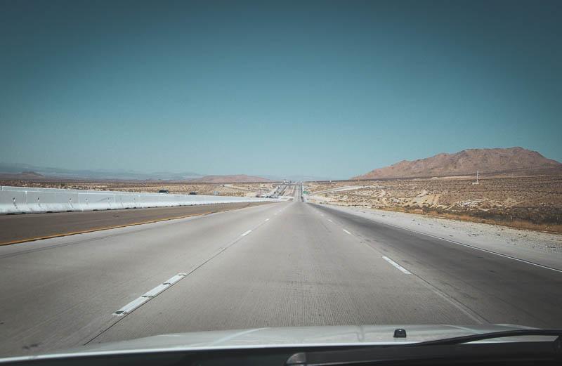 Die Interstate 15 von L.A. nach Las Vegas