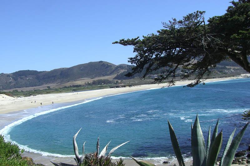 Monterey Bay in Kalifornien, schlecht fotografiert