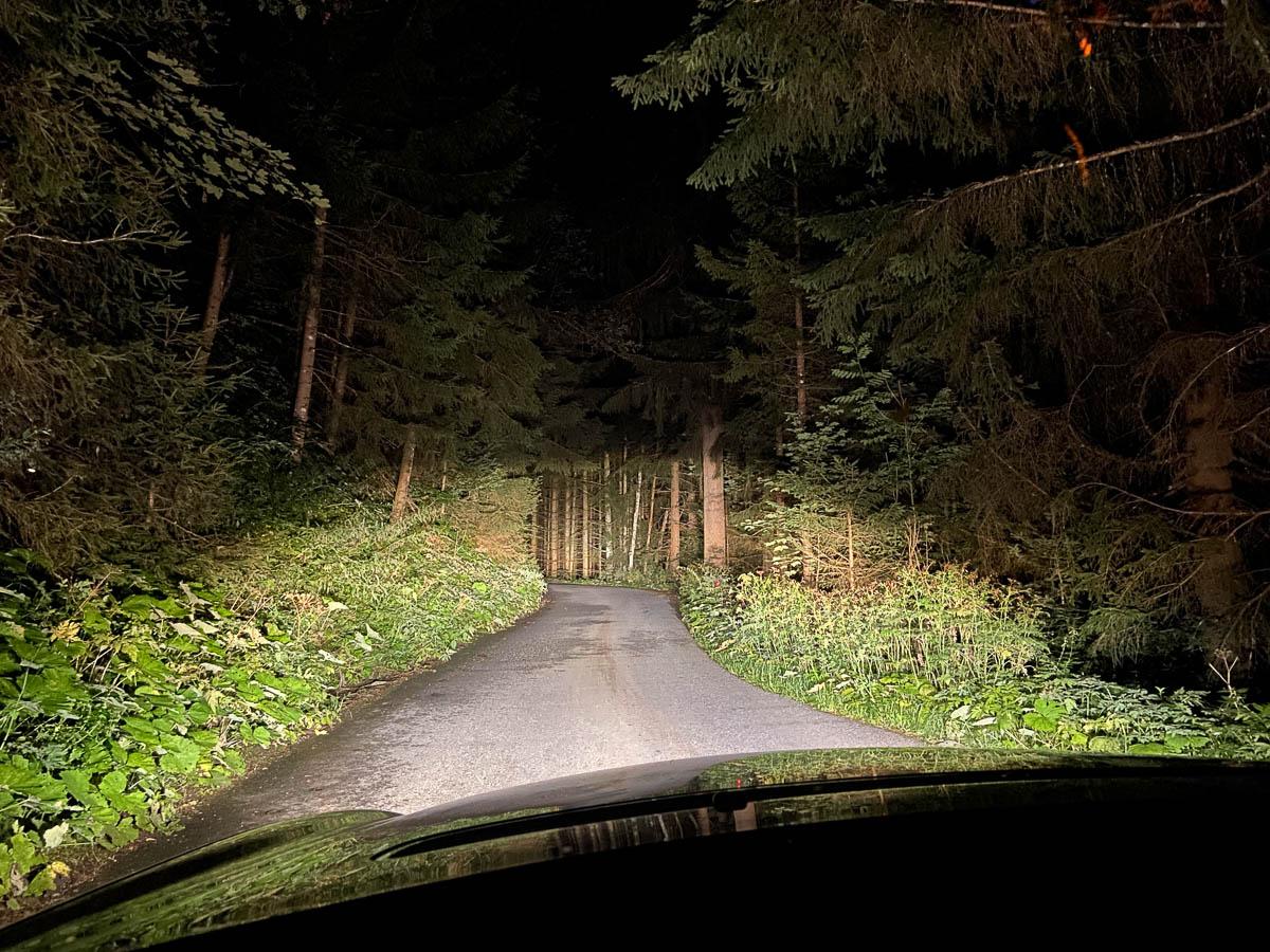 Straße zur Horlerstiegl in der Wildschönau