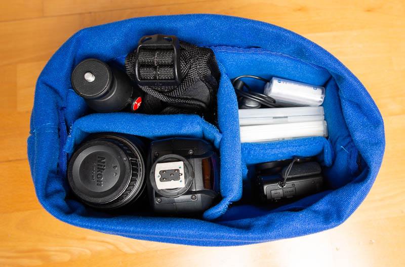 Yimidear - Kamera-Schutztasche als Inlet mit Kamera und Drohne