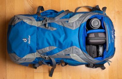 Yimidear Schutztasche fürs Bodenfach vom Deuter-Wanderrucksack