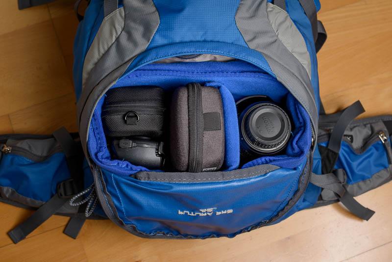Yimidear Schutztasche fürs Bodenfach vom Wanderrucksack