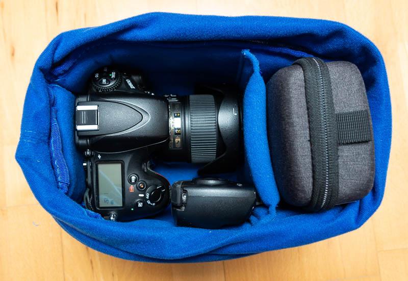 Yimidear - Kamera-Schutztasche als Inlet mit Fotozubehör