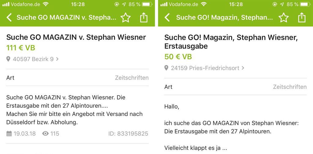 ZIELFOTO Alpen - Angebote bei Ebay Kleinanzeigen