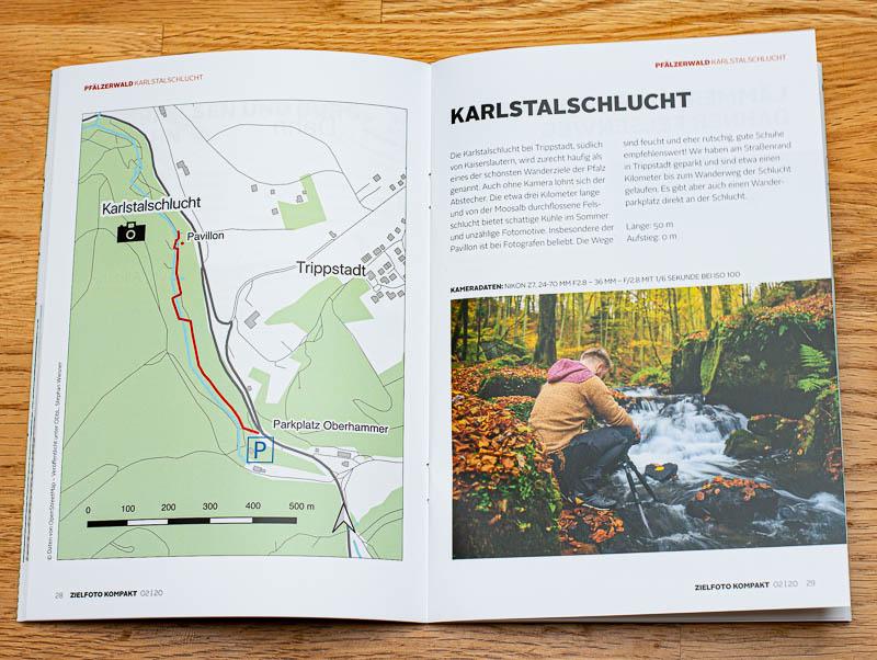 ZIELFOTO KOMPAKT - Die Beilage zum ZIELFOTO-Magazin Fotografieren in Pfälzerwald und Schwarzwald