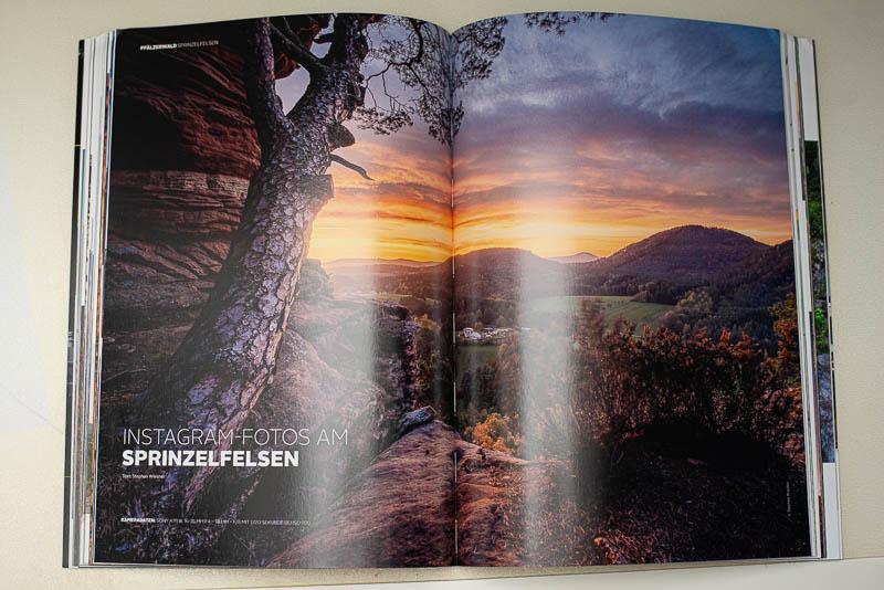 Sprinzelfelsem im ZIELFOTO-Magazin Fotografieren in Pfälzerwald und Schwarzwald