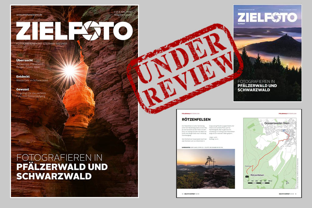 Review ZIELFOTO-Magazin: Pfälzerwald & Schwarzwald