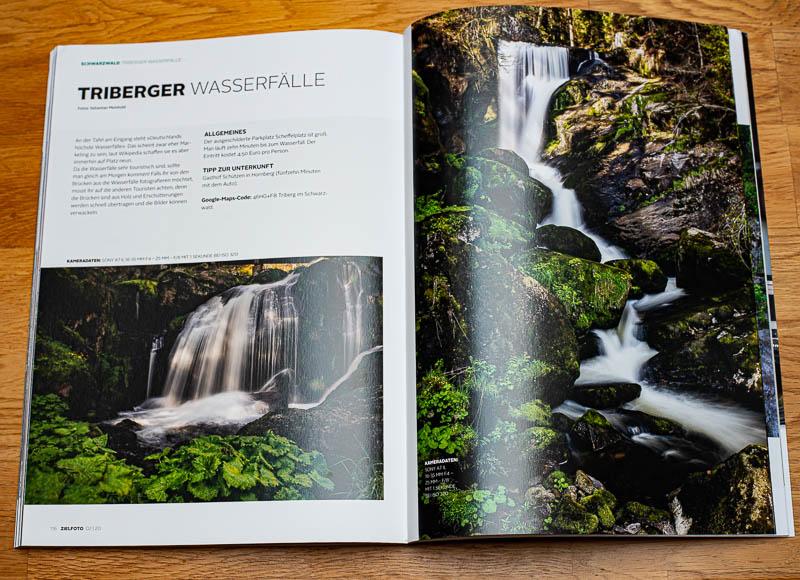 Triberger Wasserfälle im ZIELFOTO-Magazin Fotografieren in Pfälzerwald und Schwarzwald